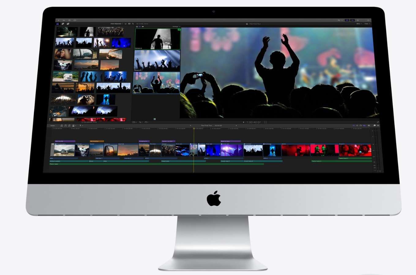 The new IMAC series of apple is equipped with AEM architecture chip
